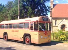 Vintage single deck bus for weddings in Tonbridge
